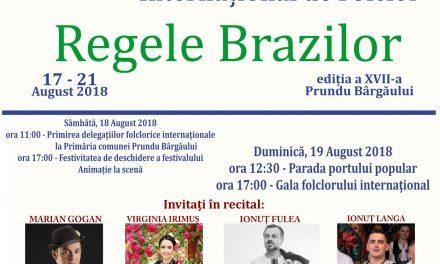 Informare de presă: Festivalul Internațional de Folclor Regele Brazilor