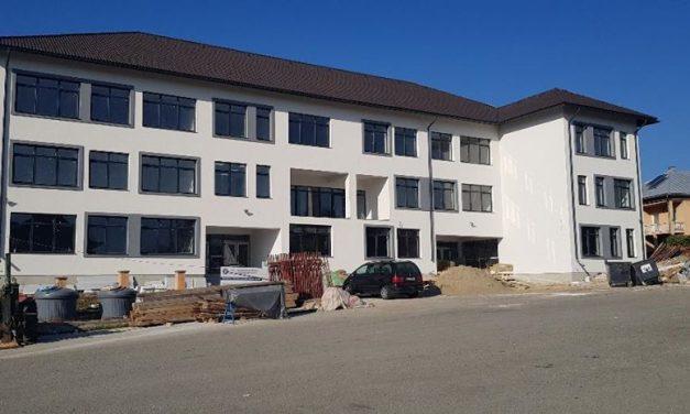 Proiectul privind construirea școlii generale din comuna Prundu Bârgăului se apropie de finalizare!