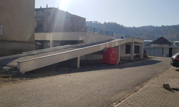 Modernizare și amenajare acces pietonal, acces rutier, spații de parcare și parking auto în zona blocurilor RAAL